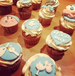 Juliette Cake Design Baby Shower cupcakes