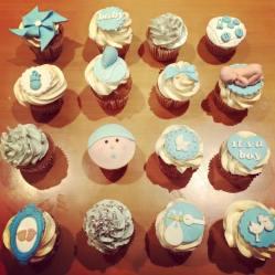 Juliette Cake Design Baby Shower cupcakes