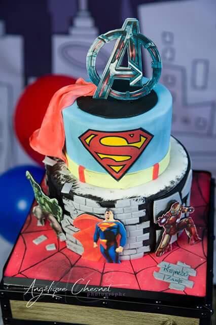 Juliette Cake Design Super Heros Juliette Cake Design