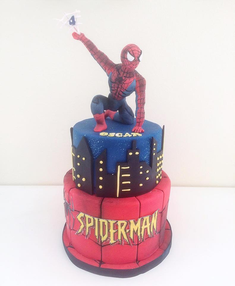 Juliette Cake Design Spiderman Juliette Cake Design