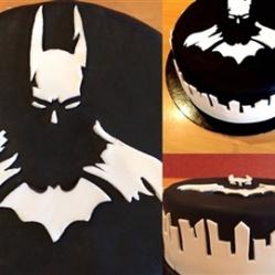 "Juliette cake design ""Batman"""