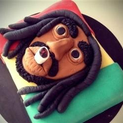 "Juliette cake design ""bob marley"""