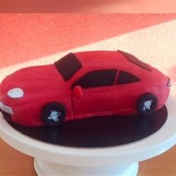 Juliette cake design 3D voiture