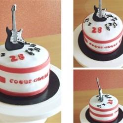 """Juliette cake design """"musicien"""""""