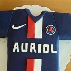 "Juliette cake design ""maillot PSG"""