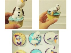 "Juliette Cake Design ""olaf"""