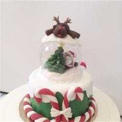 """Juliette Cake Design """"gâteau de noël"""""""