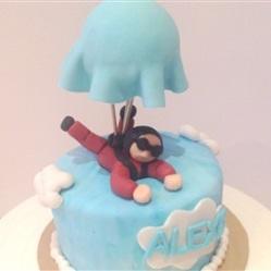 "Juliette cake design ""parachute"""