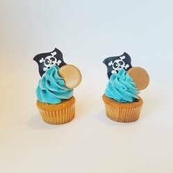 Juliette cake design cupcakes pirate
