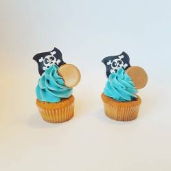 Juliette cake design cupcakes pirate