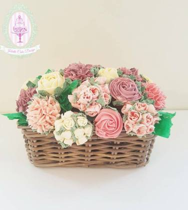 Juliette cake design idée original de cadeau, bouquet de cupcakes