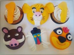 Juliette cake design cupcake simba