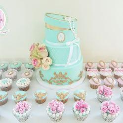 Juliette cake design wedding marie Antoinette