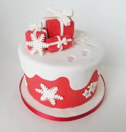juliette cake design noel 2018