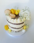 nacked cake jaune juliette cake design