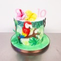 cake perroquet juliette cake design