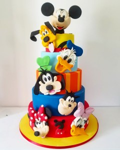 candy bar mickey juliette cake design