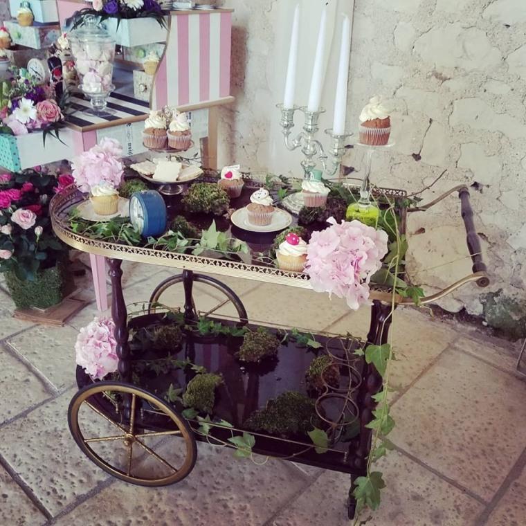 cup cake candy bar alice in wonderland juliette cake design