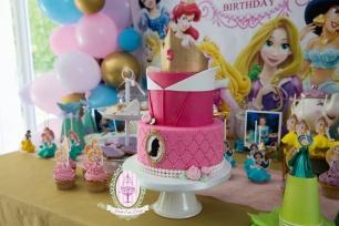 sweet table princesses juliette cake design-1